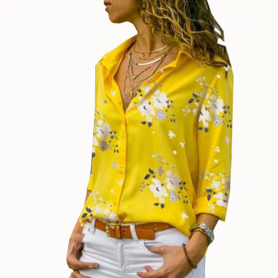 Camisa Social Feminina com...