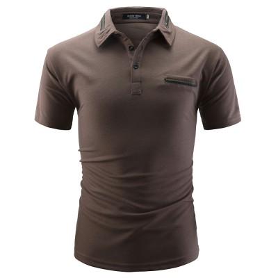 Camisa Polo Masculina Bolso...