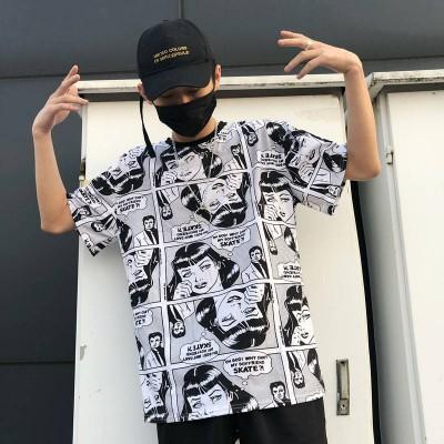 Camiseta Casual Masculina...
