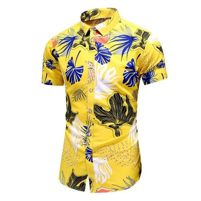 Camisa Praia Masculina Moda...