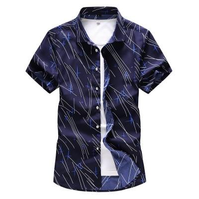 Camisa Masculina Casual...
