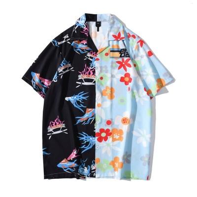 Camisa Floral Masculina...