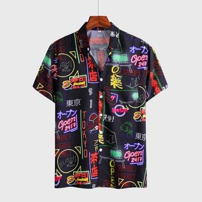 Camisa Preta Masculina...