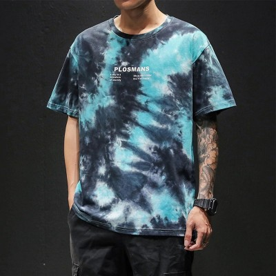 Camiseta Tie Dye Escura...