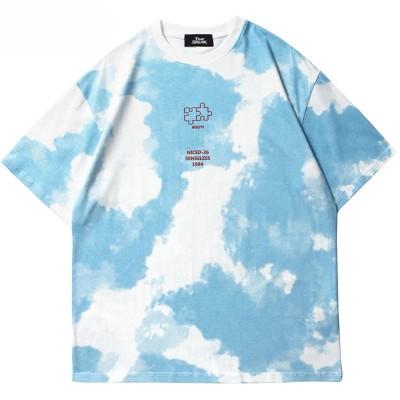 Camiseta Tie Dye Manchada...