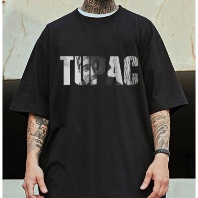 Camiseta Preta Estampada...