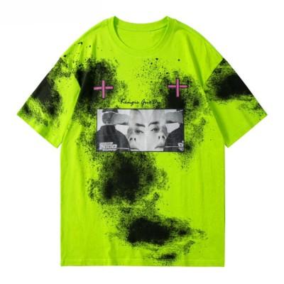 Camiseta Tie Dye Manchado...