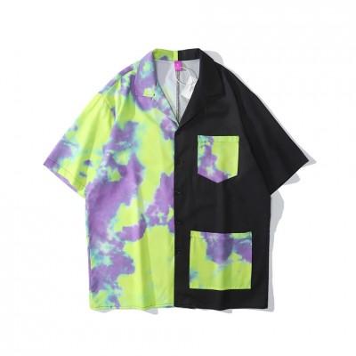 Camisa Masculina em Tie Dye...