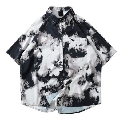 Camisa Tie Dye Manchada...