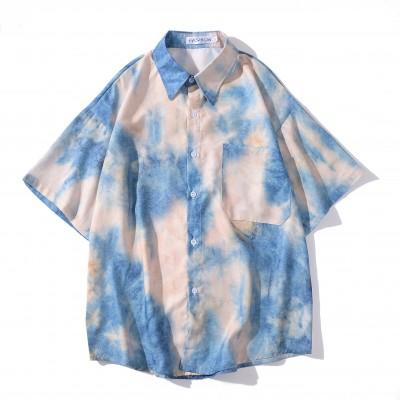 Camisa Tie Dye Colorida...