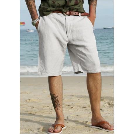 Short Casuais Masculino Formal Moda Verão Top Estiloso Confortável