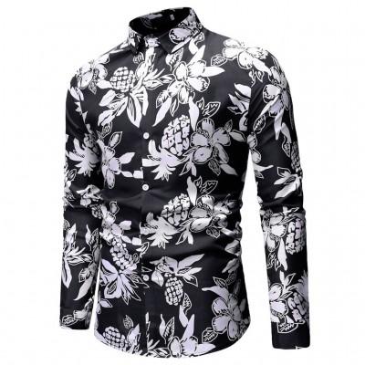 Camisa Masculina Moda...