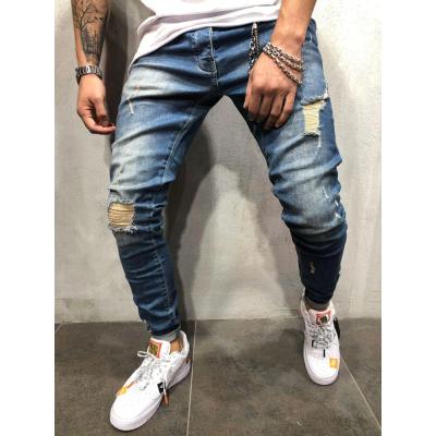 Calça Jeans Rasgado...