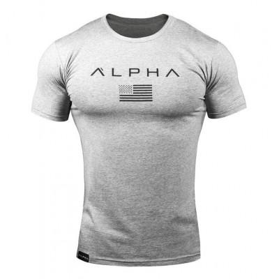 Camiseta Alpha Masculina de...