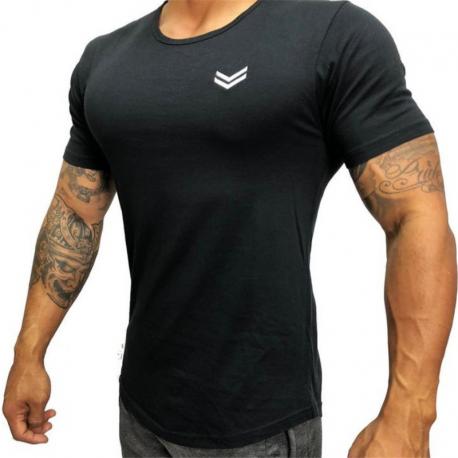 Camiseta Masculina Manga Curta Estilo Casual para o Lazer Top Verão