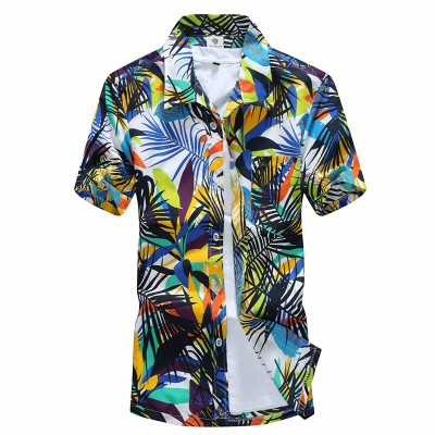 Camisa Havaiana Florada...