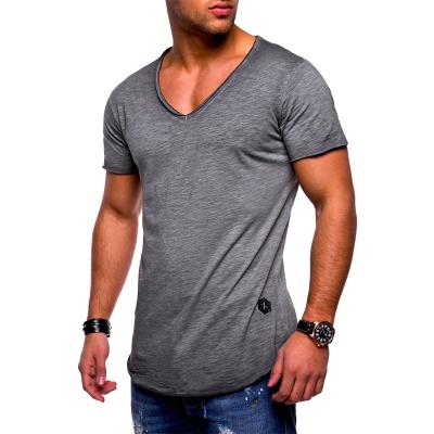 Camiseta Gola V Masculina...