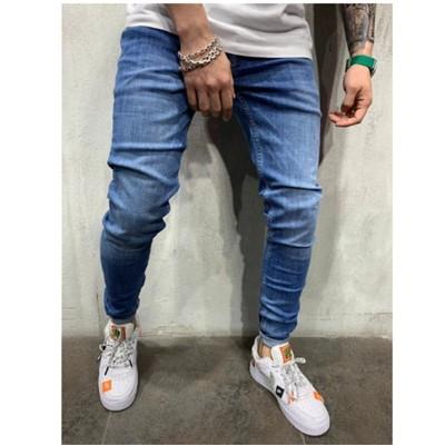 Calça Jeans Básica Casual...