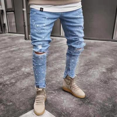 Calça Jeans Rasgada Moderna...