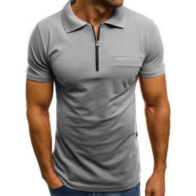 Camisa Polo com Zipper...