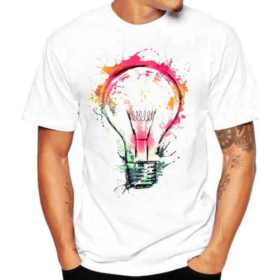 Camiseta Estampada Lampada...