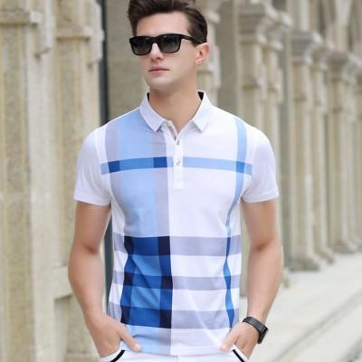 Camisa Polo Xadrez Elegante...