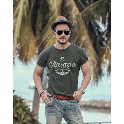 Camiseta Estampada Ancora...