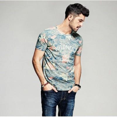 Camiseta Moda Praia Estilo...