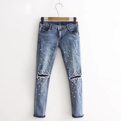 Calça Jeans Feminina Denim...
