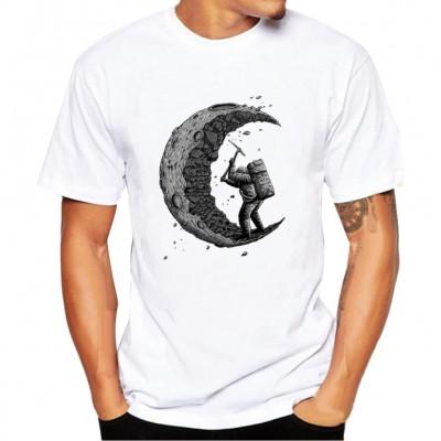 Camiseta Escavação da Lua...