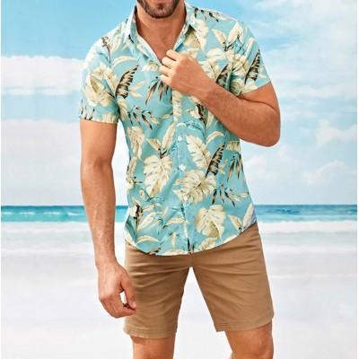 Camisa Moda Praia Estampa...