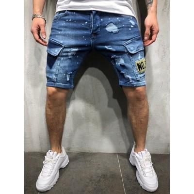 Bermuda Jeans Fino com...