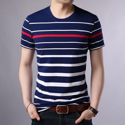 Camiseta Listrada Fashion...