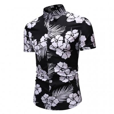 Camisa Estampa Floral Moda...
