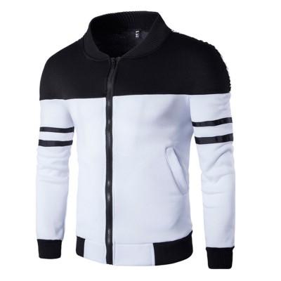 Jaqueta Color Block com...