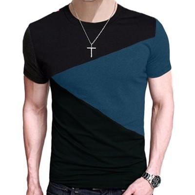 Camiseta Color Block...